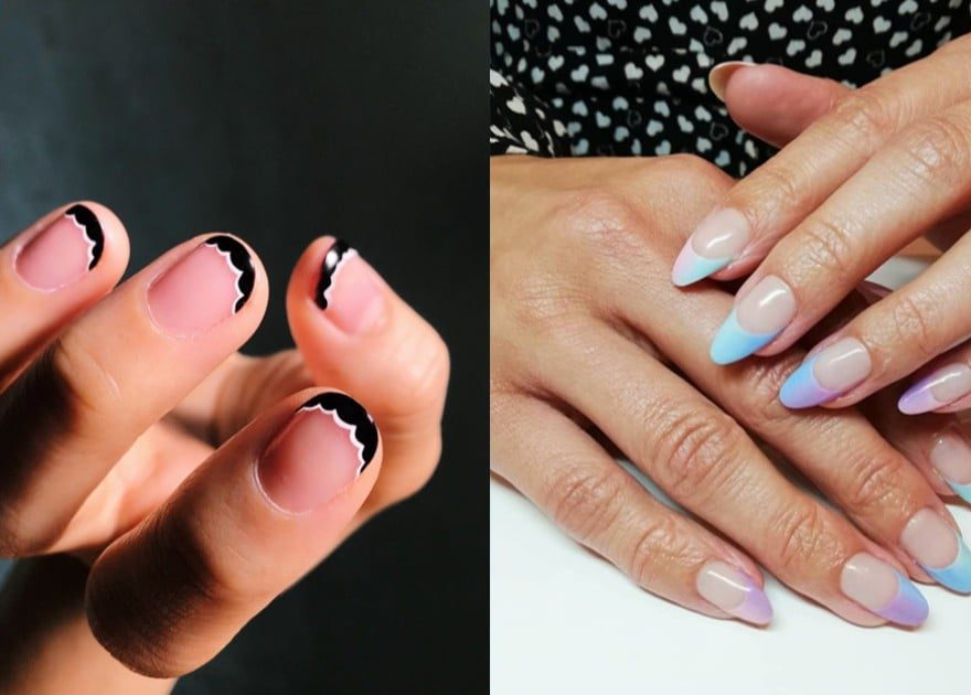 Upgrade Your French Mani In 2019 With These 50 Nail Art Ideas