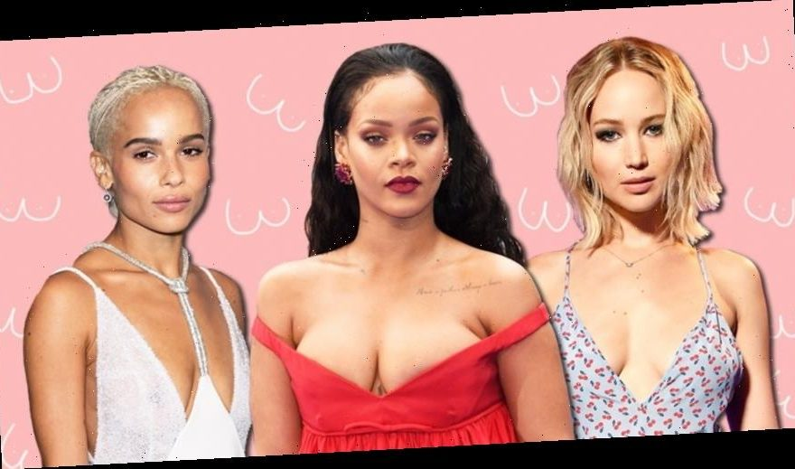 Zoe Kravitz Jennifer Lawrence Friends: Free The Nipple! Celebs Who Show Their Chests With Pride