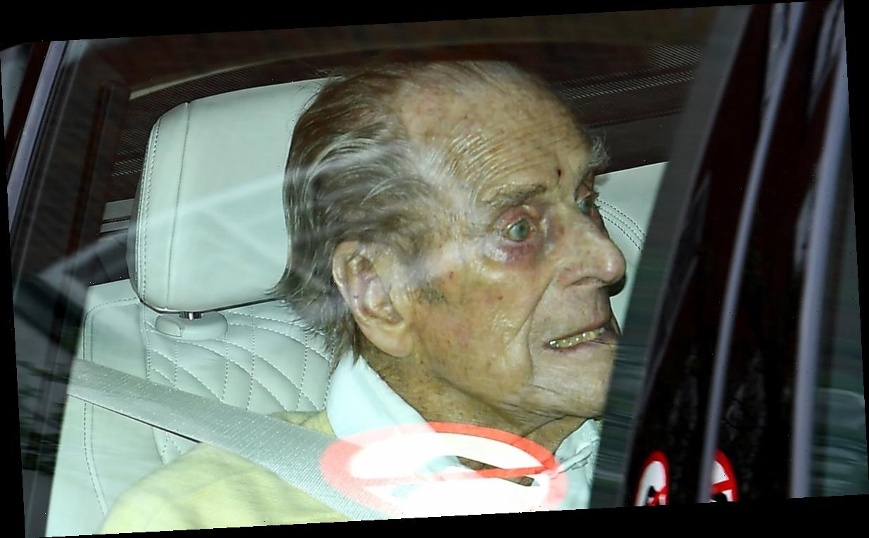 Prince Philip Photographed Leaving Hospital, Buckingham Palace Releases New  Statement   Best LifeStyle Buzz